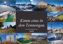 Kimm eina in den Tennengau (Wandkalender 2018 DIN A3 quer) von Kramer,  Christa