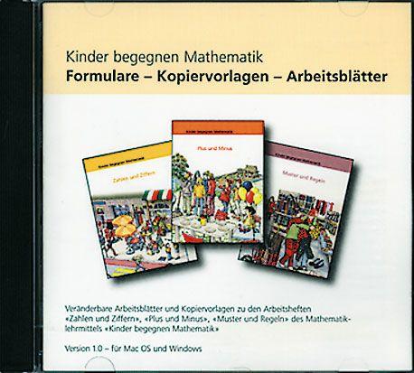 Kinder begegnen Mathematik, Formulare/Kopiervorlagen/Arbeitsblätter v