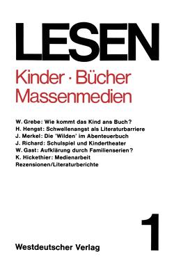 Kinder — Bücher — Massenmedien von Bauer,  Karl W., Vogt,  Jochen