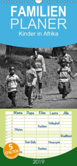Kinder in Afrika – Familienplaner hoch (Wandkalender 2019 , 21 cm x 45 cm, hoch) von Binder,  Ralph