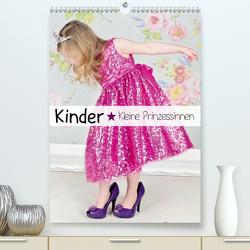Kinder. Kleine Prinzessinnen (Premium, hochwertiger DIN A2 Wandkalender 2021, Kunstdruck in Hochglanz) von Stanzer,  Elisabeth
