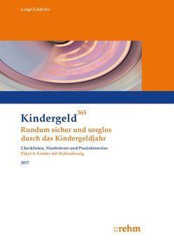 Kinder mit Behinderung 2017 von Lange,  Klaus, Lüdecke,  Reinhard