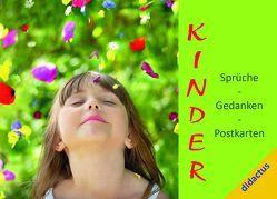 """""""Kinder"""" – Sprüche, Gedanken, Postkarten von Schöll,  Carmen"""