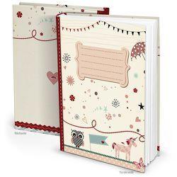 Kinder Tagebuch für Mädchen mit 136 freien Seiten zum Selbst Gestalten – einschreiben, einkleben, …