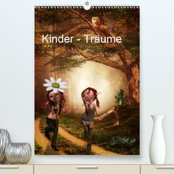 Kinder – Träume (Premium, hochwertiger DIN A2 Wandkalender 2021, Kunstdruck in Hochglanz) von Pählike,  Susann