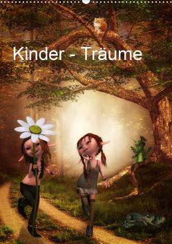 Kinder – Träume (Wandkalender 2021 DIN A2 hoch) von Pählike,  Susann