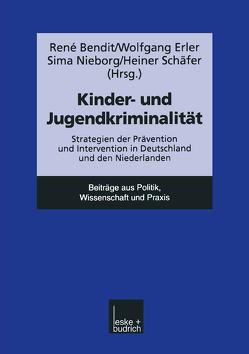 Kinder- und Jugendkriminalität von Erler,  Wolfgang, Nieborg,  Sima, Schaefer,  Heiner