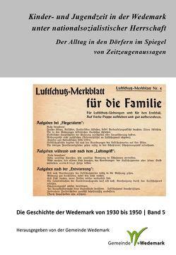 Kinder- und Jugendzeit in der Wedemark unter nationalsozialistischer Herrschaft von Paehr,  Sabine, Stöber,  Martin
