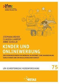 Kinder und Onlinewerbung von Dreyer,  Stephan, Lampert,  Claudia, Schulze,  Anne