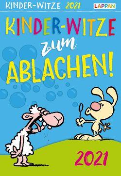 Kinder-Witze zum Ablachen 2021: Mein Kalender für jeden Tag von Fernandez,  Miguel, Steindamm,  Constanze