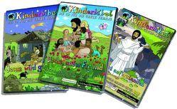 Kinderbibel. Vol. I-III von Angerer,  Katarina, Klengel,  Tom, Klimt,  Andrea, Schoger,  Herbert