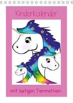 Kinderbilder mit lustigen Tiermotiven (Tischkalender 2018 DIN A5 hoch) von Digital-Art,  k.A.