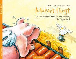 Kinderbuch – Mozart fliegt von Blinde,  Inga Maria, Mariss,  Jochen