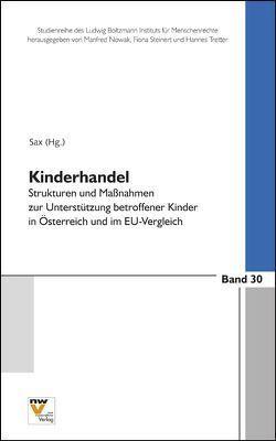 Kinderhandel von Sax,  Helmut
