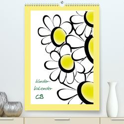 Kinderkalender CB (Premium, hochwertiger DIN A2 Wandkalender 2021, Kunstdruck in Hochglanz) von Burlager,  Claudia