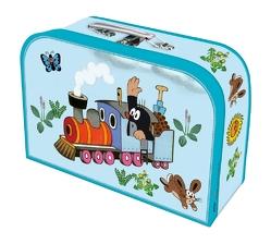 """Kinderkoffer """"Der kleine Maulwurf"""" Eisenbahn/Lokomotive"""