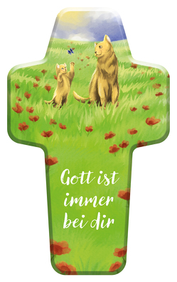 """Kinderkreuz """"Gott ist immer bei dir"""" von Nimz,  Annika"""