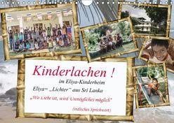 Kinderlachen! im Eliya-Kinderheim (Wandkalender 2019 DIN A4 quer) von Stein,  Gaby