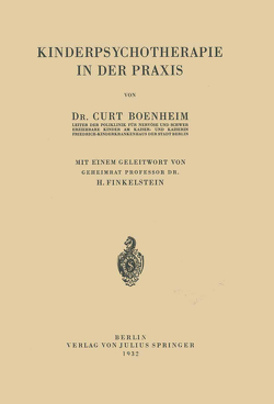 Kinderpsychotherapie in der Praxis von Boenheim,  NA, Finkelstein,  NA