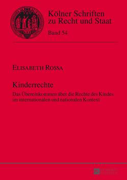 Kinderrechte von Rossa,  Elisabeth