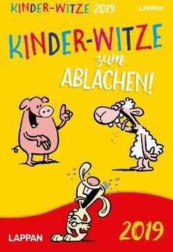 Kinder-Witze Tageskalender 2019 von Bruhn,  Dennis, Fernandez,  Miguel