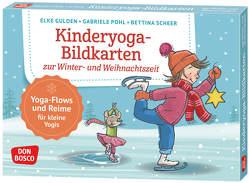 Kinderyoga-Bildkarten zur Winter- und Weihnachtszeit von Gulden,  Elke, Pohl,  Gabriele, Scheer,  Bettina