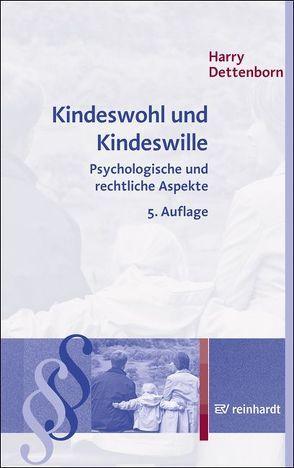 Kindeswohl und Kindeswille von Dettenborn,  Harry