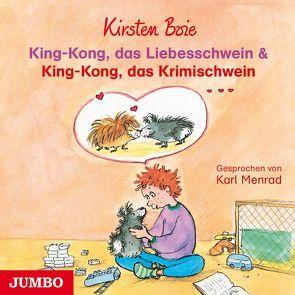 King-Kong, das Liebesschwein & King-Kong, das Krimischwein von Boie,  Kirsten, Menrad,  Karl