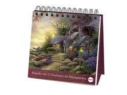Kinkade Aufstell-Postkartenkalender – Kalender 2019 von Heye, Kinkade,  Thomas