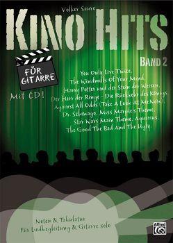 Kino Hits für Gitarre / Kino Hits für Gitarre Band 2 von Saure,  Volker