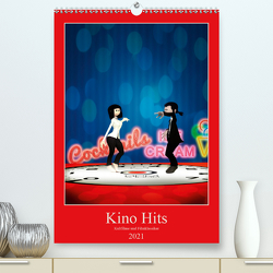 Kino Hits (Premium, hochwertiger DIN A2 Wandkalender 2021, Kunstdruck in Hochglanz) von Buch,  Norbert