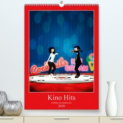 Kino Hits (Premium, hochwertiger DIN A2 Wandkalender 2020, Kunstdruck in Hochglanz) von Buch,  Norbert
