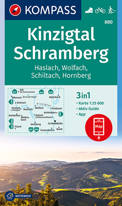 Kinzigtal Schramberg, Haslach, Wolfach, Schiltach, Hornberg von KOMPASS-Karten GmbH