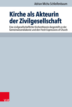 Kirche als Akteurin der Zivilgesellschaft von Hauschildt,  Eberhard, Praßl,  Franz Karl, Schleifenbaum,  Adrian Micha, Steinmeier,  Anne M.
