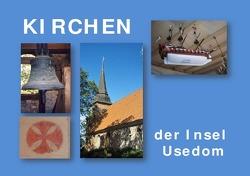 Kirchen der Insel Usedom von Stockmann,  Hilde