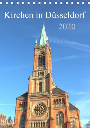 Kirchen in Düsseldorf (Tischkalender 2020 DIN A5 hoch) von pixs:sell
