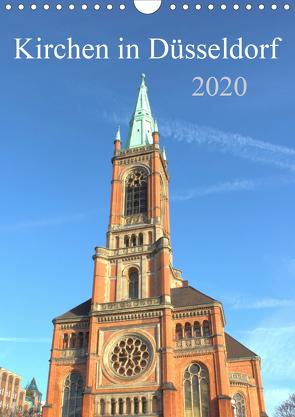 Kirchen in Düsseldorf (Wandkalender 2020 DIN A4 hoch) von pixs:sell