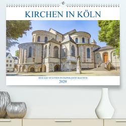 Kirchen in Köln – Heilige Stätten und imposante Bauten (Premium, hochwertiger DIN A2 Wandkalender 2020, Kunstdruck in Hochglanz) von Stock,  pixs:sell@Adobe