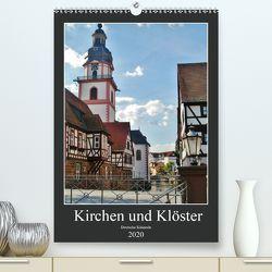 Kirchen und Klöster deutsche Kleinode (Premium, hochwertiger DIN A2 Wandkalender 2020, Kunstdruck in Hochglanz) von Janke,  Andrea