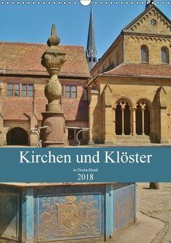 Kirchen und Klöster in Deutschland (Wandkalender 2018 DIN A3 hoch) von Janke,  Andrea