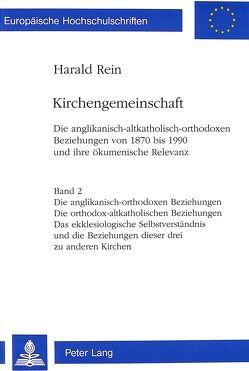 Kirchengemeinschaft von Rein,  Harald