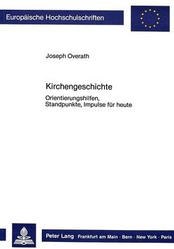 Kirchengeschichte von Overath,  Joseph