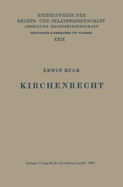 Kirchenrecht von Ruck,  Erwin