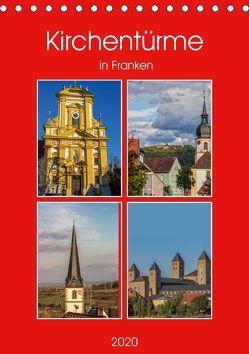 Kirchentürme in Franken (Tischkalender 2020 DIN A5 hoch) von Will,  Hans