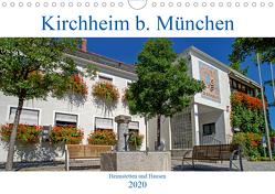 Kirchheim bei München (Wandkalender 2020 DIN A4 quer) von Topel,  Claudia