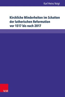 Kirchliche Minderheiten im Schatten der lutherischen Reformation vor 1517 bis nach 2017 von Voigt,  Karl Heinz