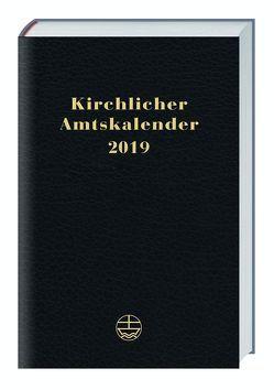 Kirchlicher Amtskalender 2019 – schwarz von Neijenhuis,  Jörg