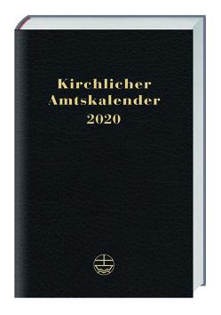 Kirchlicher Amtskalender 2020 – schwarz von Neijenhuis,  Jörg