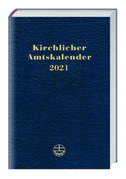 Kirchlicher Amtskalender 2021 – blau von Neijenhuis,  Jörg