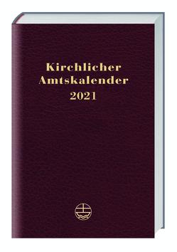 Kirchlicher Amtskalender 2021 – rot von Neijenhuis,  Jörg